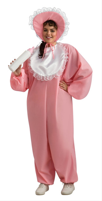 Woman's Baby Girl Plus Size Costume