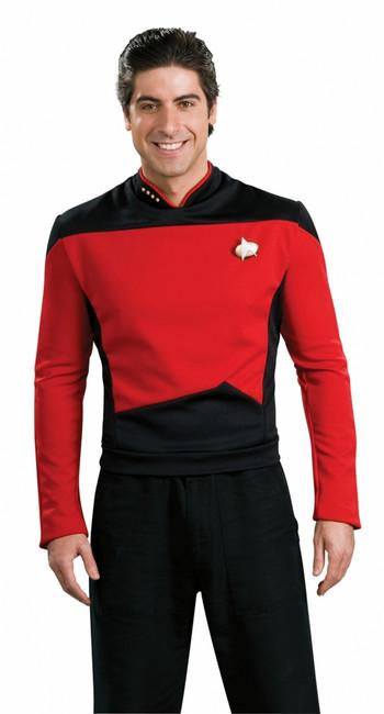 Star Trek The Next Generation Red Shirt Costume