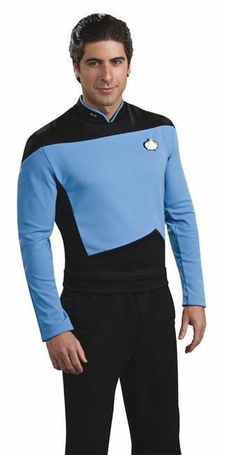 Star Trek The Next Generation Blue Shirt Costume