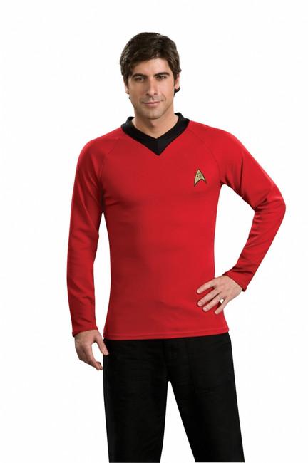 Star Trek TOS Red Shirt Costume