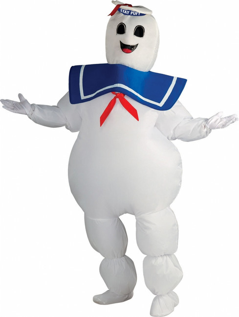 Inflatable Stay-Puft Marshmallow Man Costume