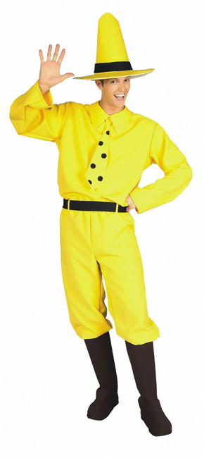 The Man with the Yellow Hat Curious George Costume