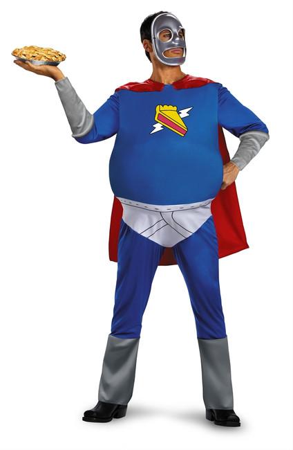 Funny Homer Simpson Pie Man Costume