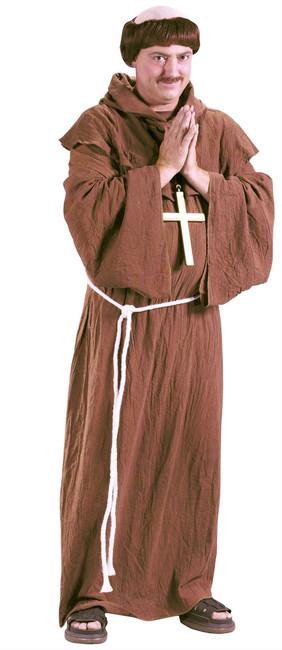 Medieval Monk Adult Halloween Costume