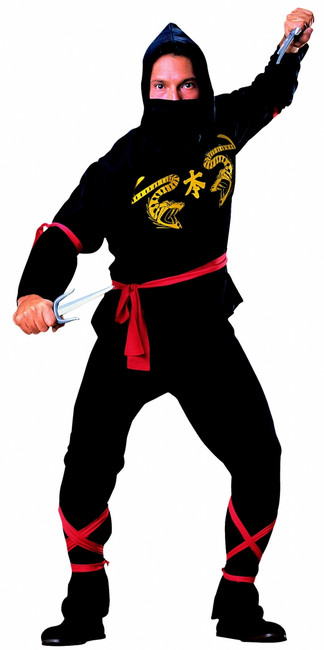 Men's Ninja Viper Costume