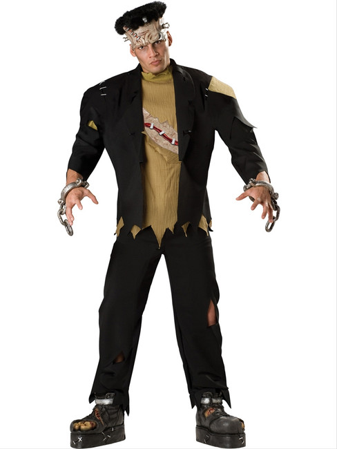 Men's Deluxe Frankenstein Monster Costume
