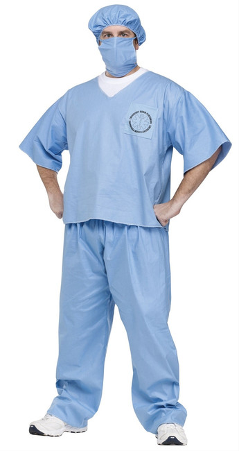 Doctor Scrubs Halloween Costume