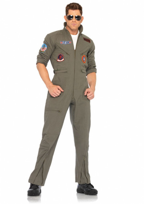 Top Gun Flight Suit Halloween Costume