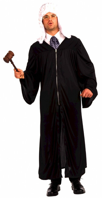 The Judge Costume Robe