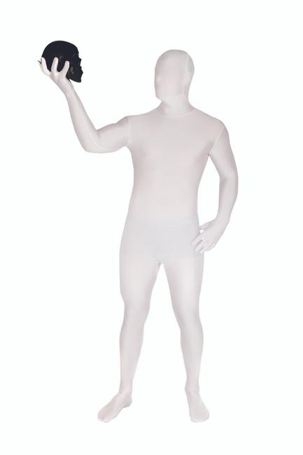 White Morphsuit Full Body Costume