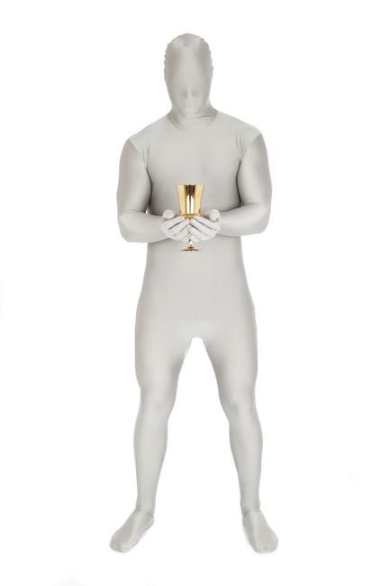 Silver Morphsuit Full Body Costume