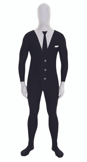 Suit Morphsuit The Slender Man Costume