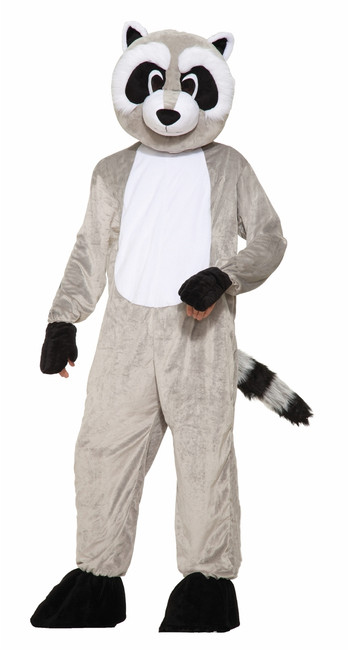 Ricky the Raccoon Mascot Costume