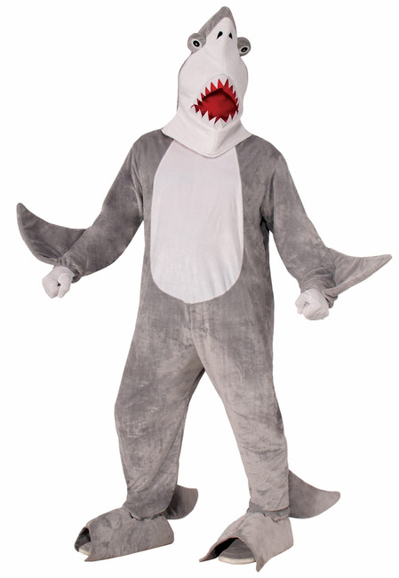 Great White Shark Mascot Costume