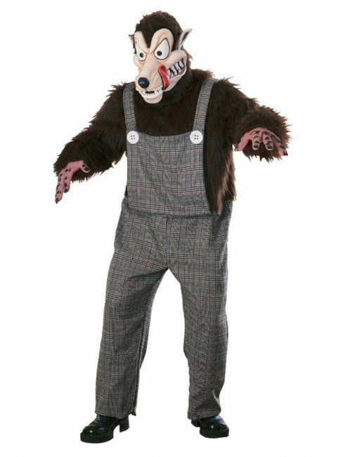 Big Bad Wolf Complete Mascot Costume