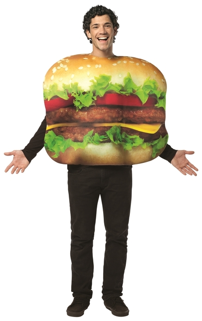 Cheeseburger Deluxe Adult Costume