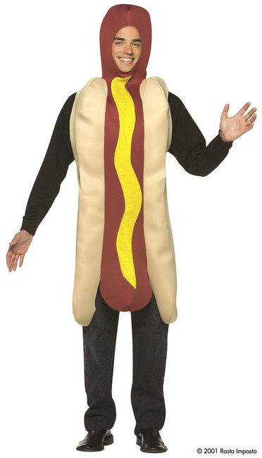 Light Weight Adult Hot Dog Costume