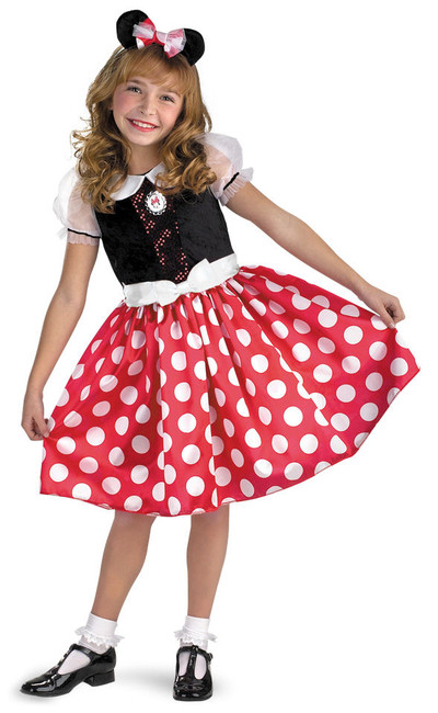 Minnie Mouse Girl's Disney Halloween Costume