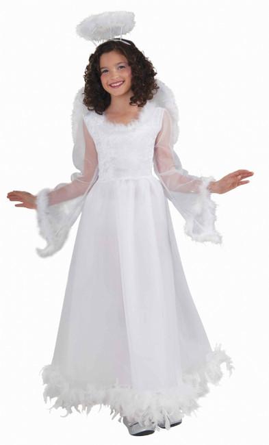 Fluttery Angel Girl's Costume