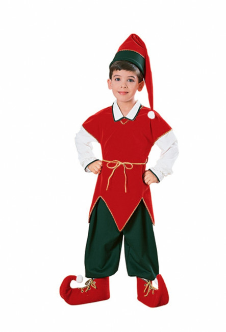 Velvet Child Elf Costume