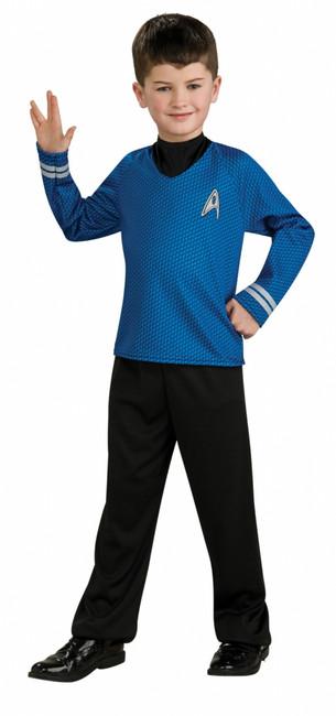 Star Trek Sciences Spock Blue Shirt