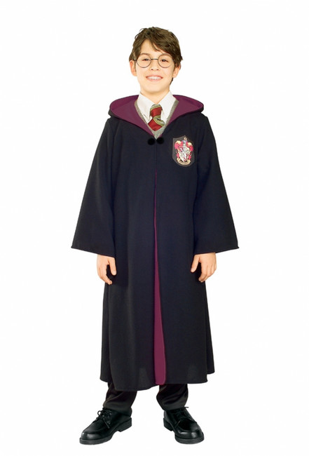 Deluxe Gryffindor Robe Harry Potter Child's Costume