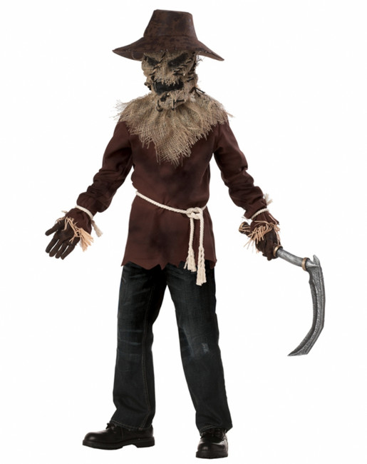 Wicked Scarecrow Scary Halloween Costume