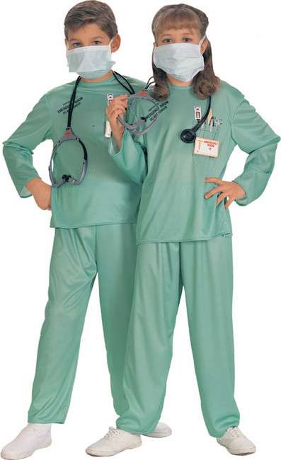 Unisex ER Doctor Halloween Costume