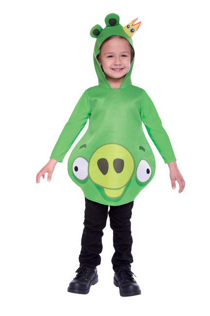 Toddler's Licensed King Pig Angry Birds Costume