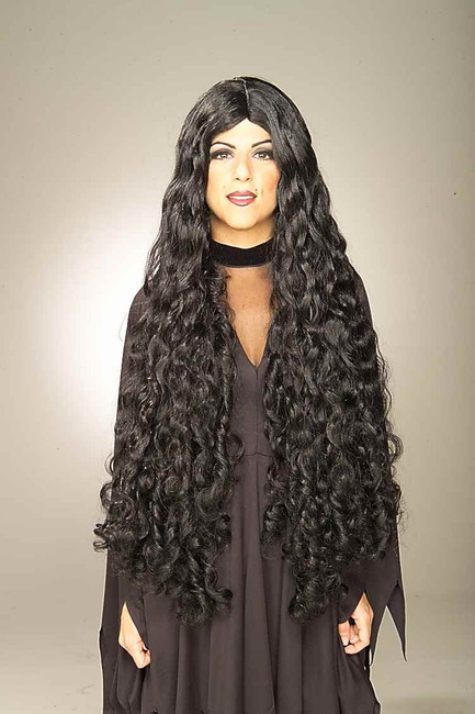 Long Wavy Medieval Witch Wig