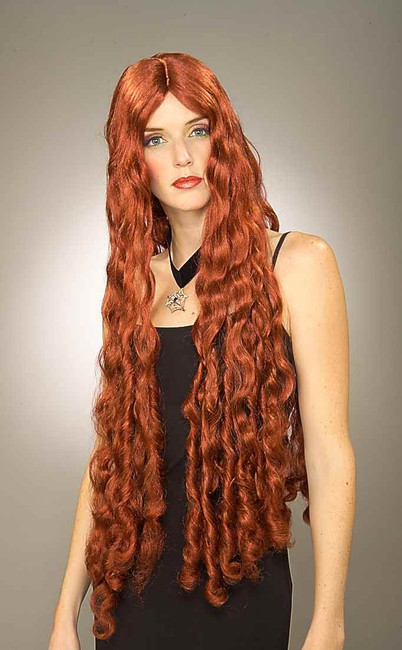 Long Red Mermaid Wig