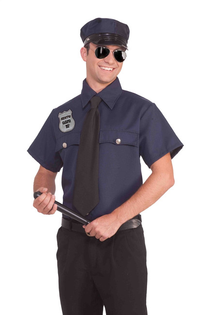 Mens Police Kit Costume