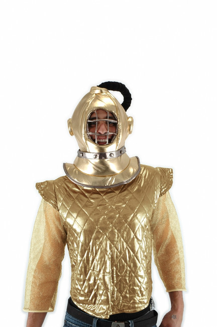 Gold Diving Bell Helmet