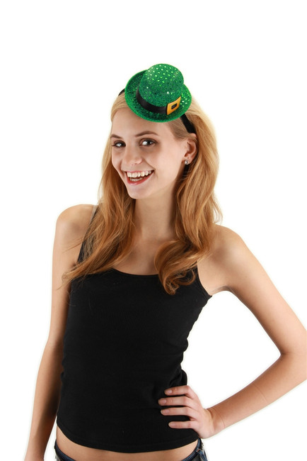 Mini Leprechaun Sequin Hat