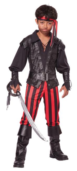 Briny Buccaneer Boys Pirate Costume