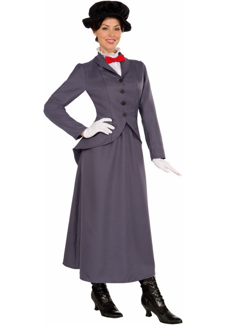 English Nanny Halloween Costume