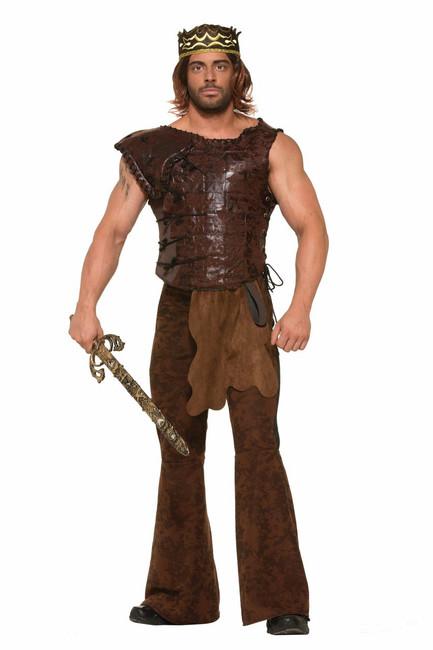 Weathered Look Medieval Kings Armor