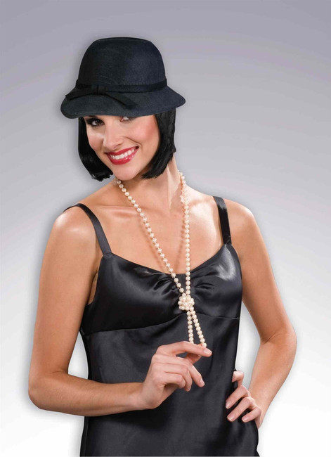 Black Flappers Hat