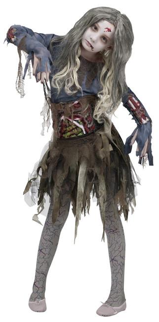 Sick Zombie Girl Halloween Costume