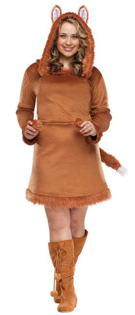 Plus Size Foxy Lady Halloween Costume