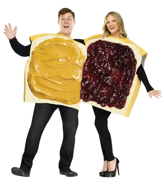 Peanut Butter & Jelly Couples Halloween Costume