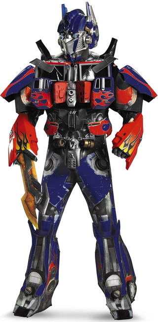 3D Optimus Prime Theatrical Transformers Edition