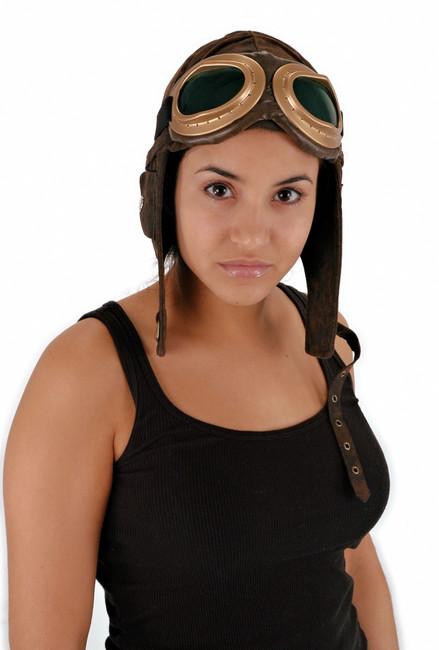 Ultra Suede Aviator Costume Hat