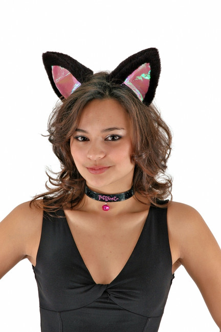 Large Cat Ears and Collar - Two Colours