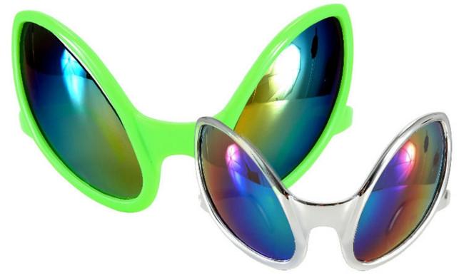 Space Alien Close Encounter Sunglasses