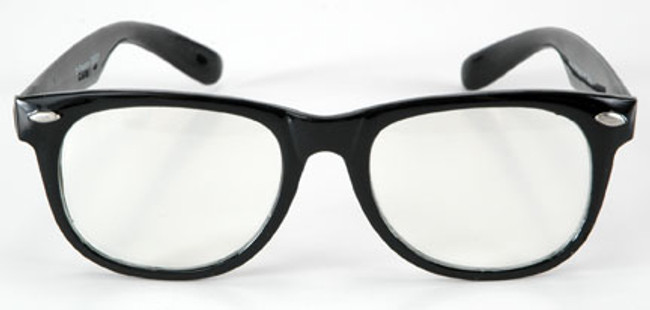 Thick Black Frame Buddy Holly Blues Glasses