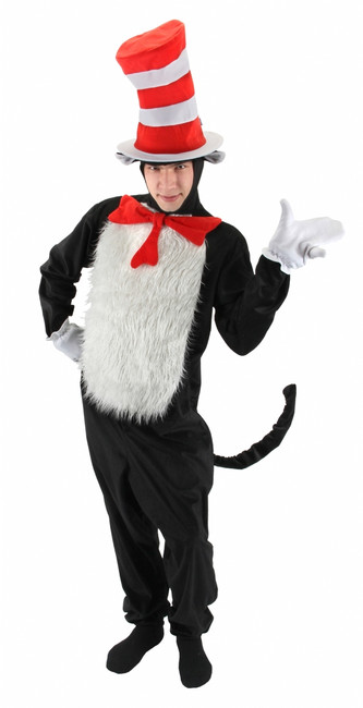 Men's Licensed Cat in the Hat Costume