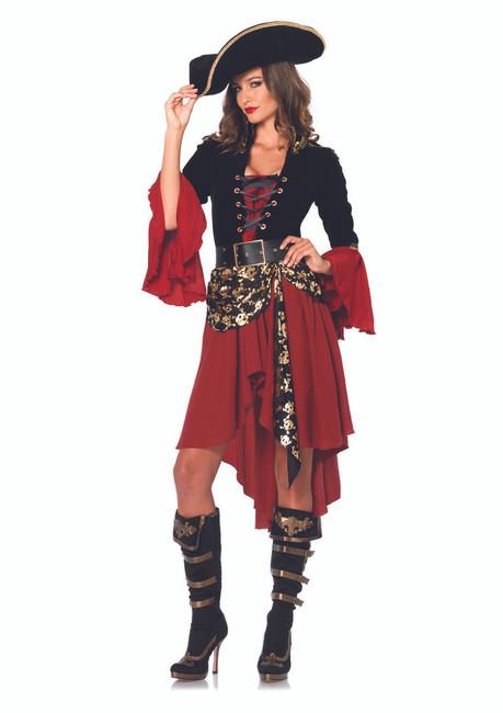 Sexy Cruel Seas Captain Halloween Costume
