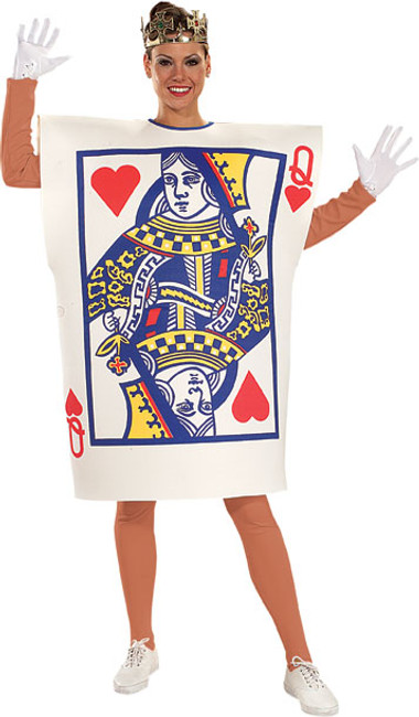 Alice in Wonderland Playing Card Guard Unisex Costume
