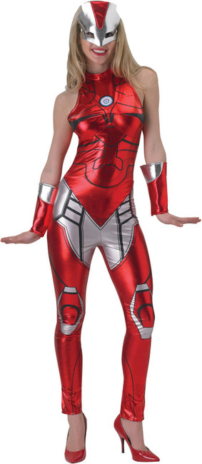 Rescue Ironman Ladies Superhero Costume